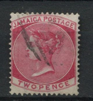 Jamaica 1870 - 83 Sg 9,  2d Rose Qv Wmk Cc A61845 photo