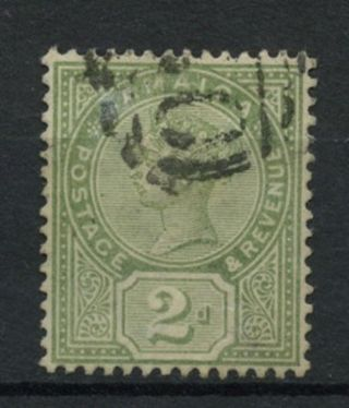 Jamaica 1889 - 91 Sg 28,  2d Green Qv A61855 photo