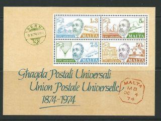 Malta Sgms531 1874 U.  P.  U. photo