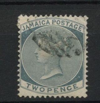 Jamaica 1883 - 97 Sg 20a 2d Slate Qv Wmk Ca A61853 photo