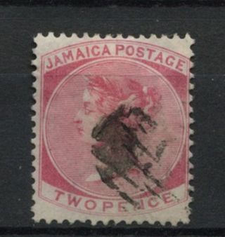 Jamaica 1870 - 83 Sg 9,  2d Rose Qv Wmk Cc A61844 photo