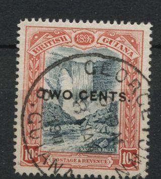 British Guiana 1899 Sg 223,  2c On 10c A61772 photo