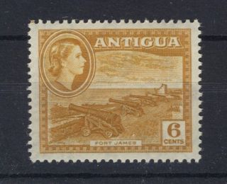 Antigua 1953 Definitives Sg126a 6c (shade) photo