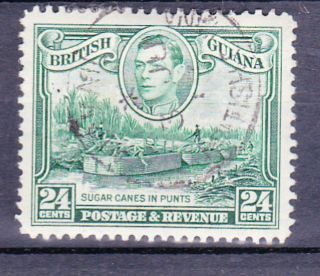 British Guiana.  Gvi.  1938.  Sg.  312.  24cts.  See Picture photo