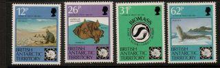British Antarctic Terr.  Sg196/9 1991 Antarctic Treaty photo