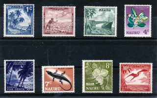 Nauru 1966 Definitives Sg66/73 photo
