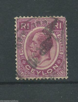 Ceylon - 1928 - Sg363 - Cv £ 1.  25 - photo
