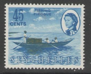 Seychelles Sg203 1966 45c Definitive Mtd photo