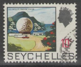 Seychelles Sg263 1969 10c Definitive Fine photo