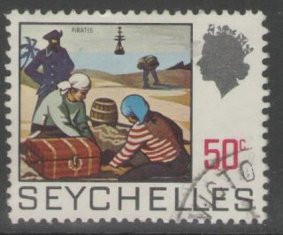 Seychelles Sg269 1969 50c Definitive Fine photo