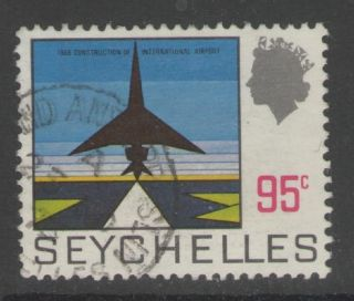 Seychelles Sg273 1972 95c Definitive Fine photo