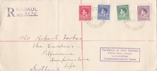 Guinea : Coronation Of King George Vi First Day Cover (1937) photo