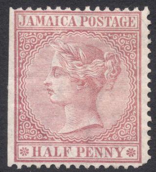 Jamaica,  1/2 P.  1872,  Scott 13a,  Mh photo