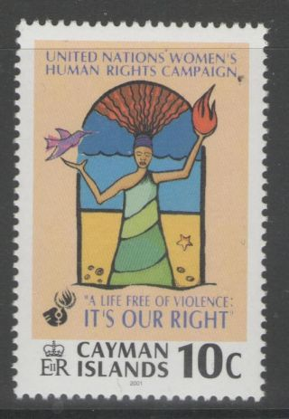 Cayman Islands Sg945 2001 United Nations Human Rights Campaign photo
