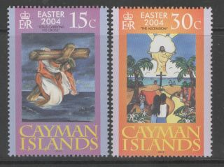Cayman Islands Sg1045/6 2004 Easter photo