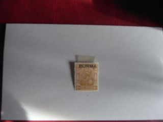 George V Burma 6 As.  M.  M photo