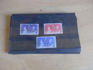 George Vi 1937 Coronation Mauritious.  U.  M.  M photo