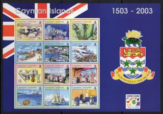 Cayman Islands Sgms1031 2003 500th Anniv Of Discovery Of Cayman Islands photo