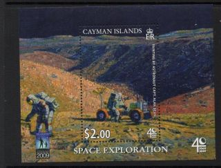Cayman Islands Sgms1225 2009 40th Anniv Of First Moon Landing photo
