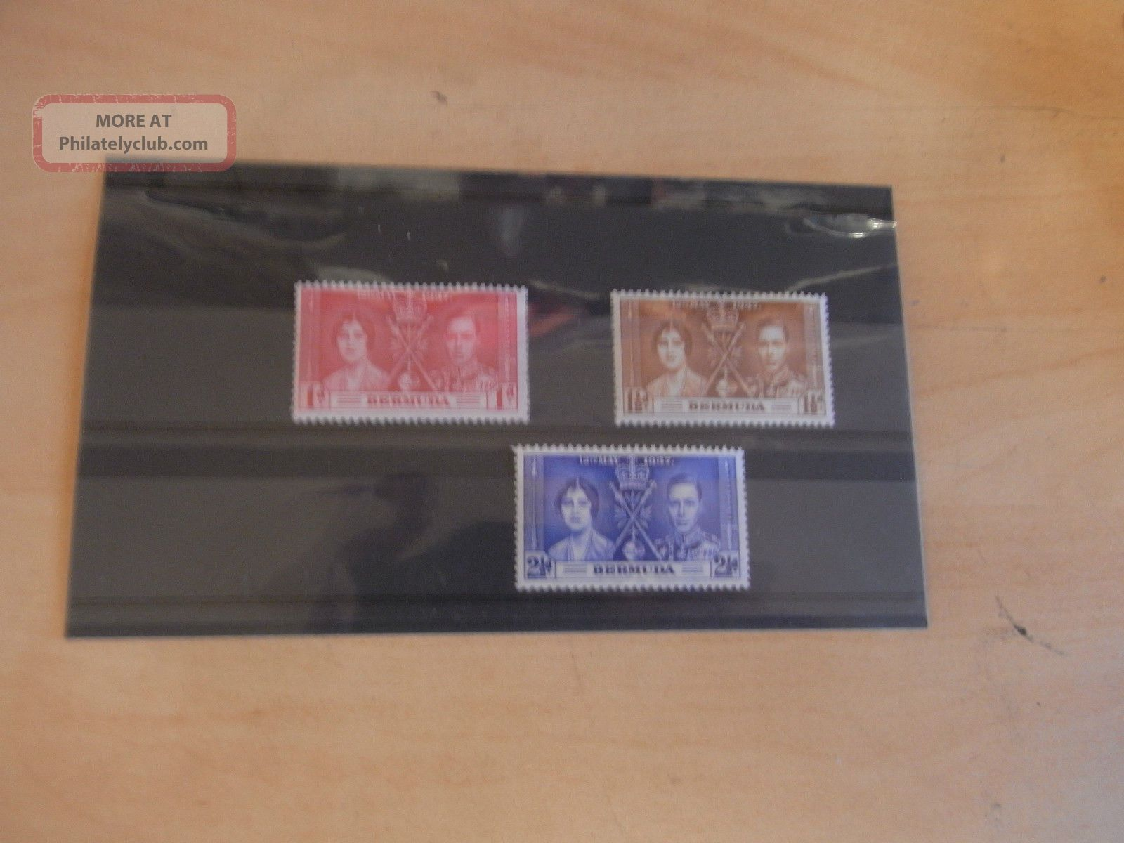 George Vi 1937 Coronation Bermuda U.  M.  M British Colonies & Territories photo