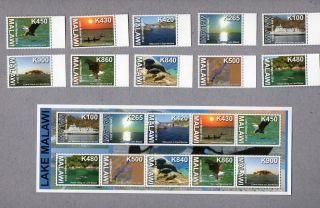 Malawi Issue: 2014 Lake Malawi Definitive Series Stamp + S/sheet photo