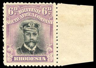 Rhodesia 1919 Kgv