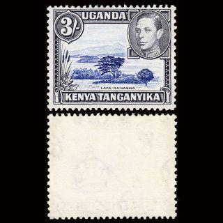 Kenya,  Uganda & Tanganyika Kgvi 3/ - P13 X 11¾ Sg 147a Cv £80 photo