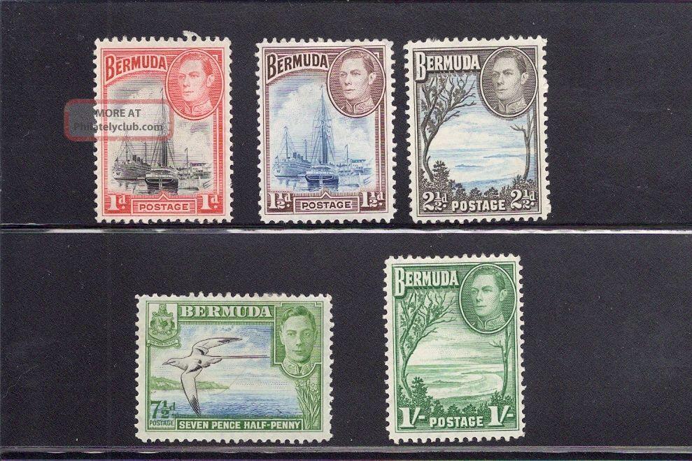 Bermuda 1938 Lightly Hinged British Colonies & Territories photo