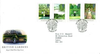 24 August 1983 British Gardens Royal Mail First Day Cover Oxford Shs (w) photo