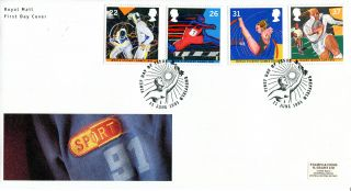 11 June 1991 Sport Royal Mail First Day Cover Better Sheffield Shs photo