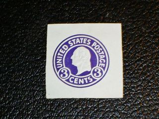 Scott U439a U.  S.  Cut Square Lh Vf Scv$8.  50 photo