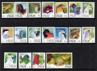 Palau 266 - 83 Birds (missing Corner On 282) photo