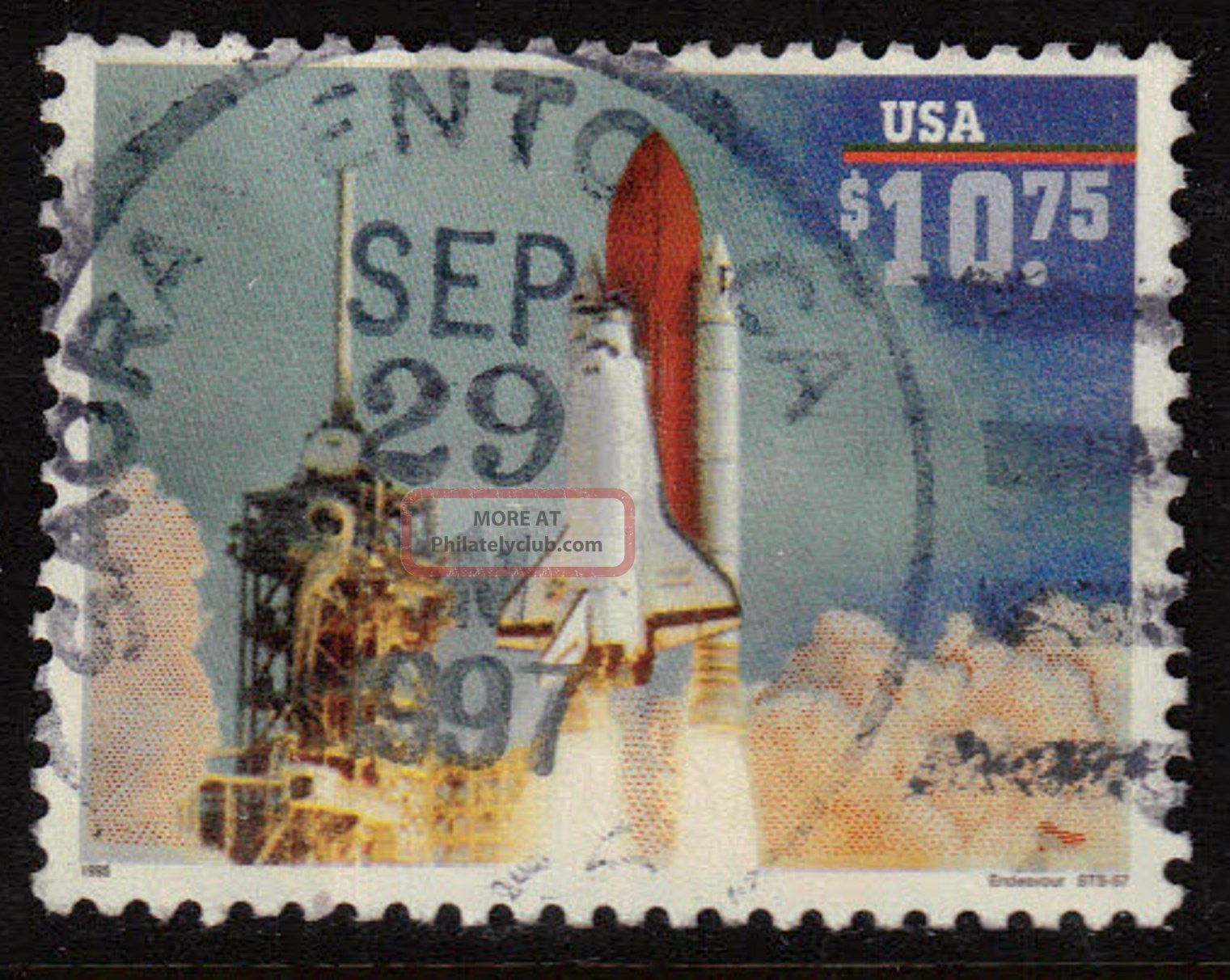 Scott 2544a Express Mail Space Shuttle Endeavor United States photo