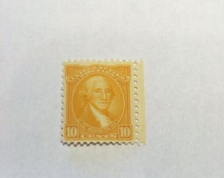 Rare Us Postage Stamp - 1932 G.  Washington Commemorative - 10 Cents photo