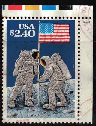 Scott 2419 Priority Mail,  Moon Landing - 20th Anniversary photo
