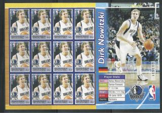 Micronesia 613 National Basketball Assoc. ,  Dallas Mavericks Sheet photo