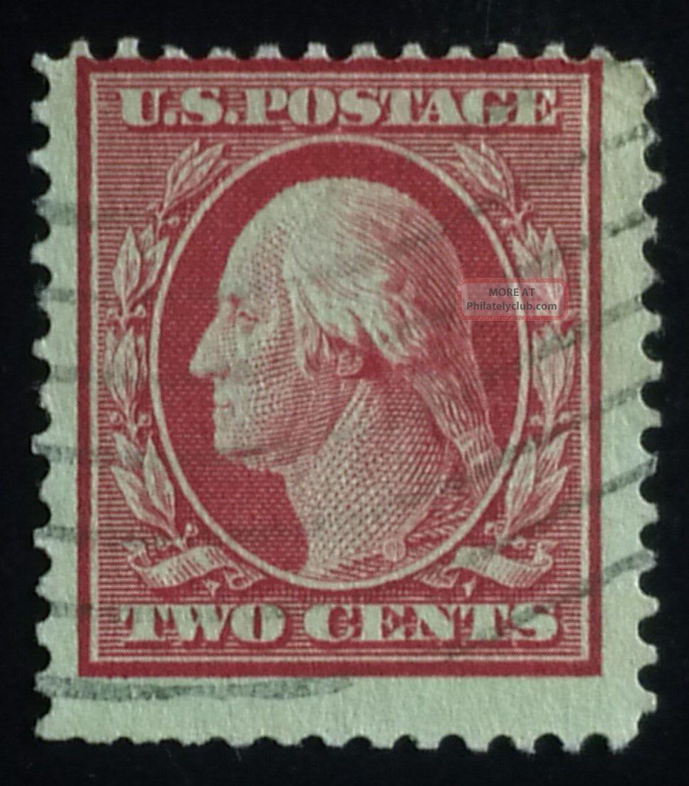 U.  S.  Scott 332 2c D/l Wmk.  Perf.  12,  F United States photo