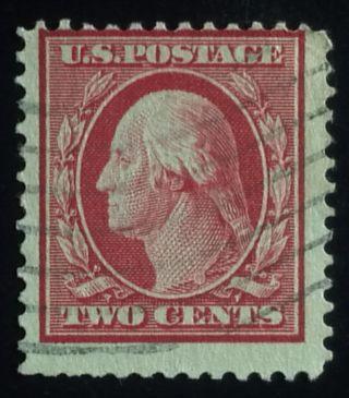 U.  S.  Scott 332 2c D/l Wmk.  Perf.  12,  F photo