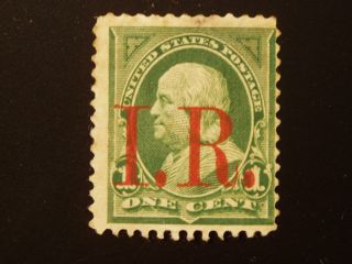 U S 1 Old Revenue Stamp S C R 154 photo