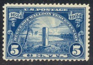616 5¢ Huguenot - Walloon Rg photo