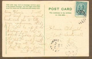 [447] Quebec - East Angus & East Dudswell (closed) - 1912 Split Ring Cancels photo