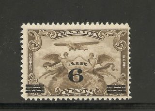 Air Mail Stamp 6 Cents On 5 Cents C - 3 Nh photo