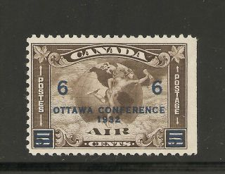 Air Mail Stamp 6 Cents On 5 Cents C - 4 Nh photo