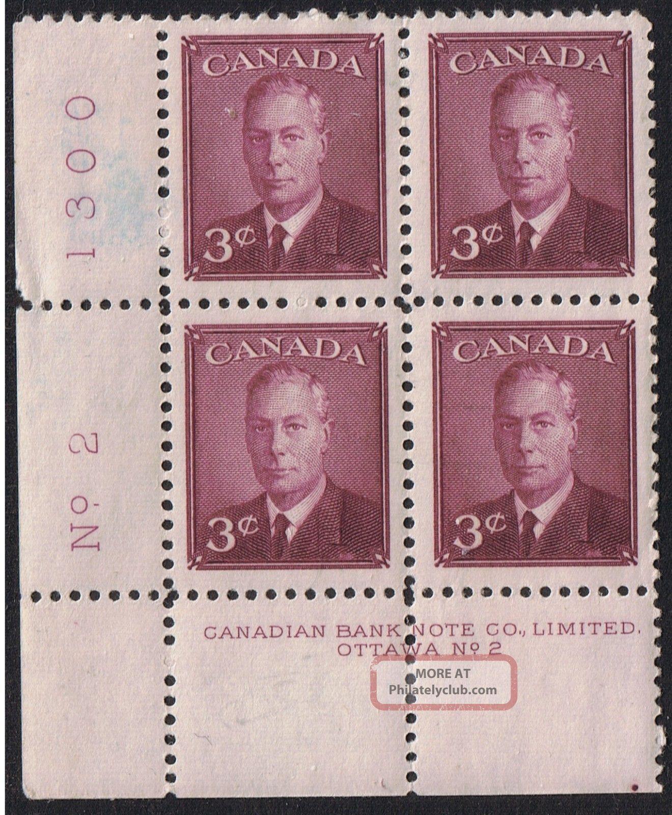 Canada 1950 Geo Vi No