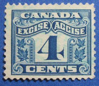 1915 4c Canada Excise Tax Revenue Vd Fx39 B 39 Cs15245 photo