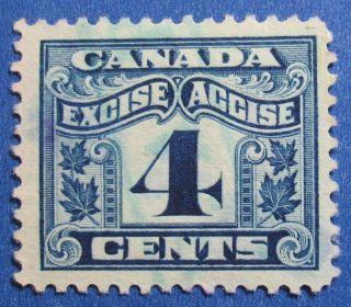 1915 4c Canada Excise Tax Revenue Vd Fx39 B 39 Cs15246 photo