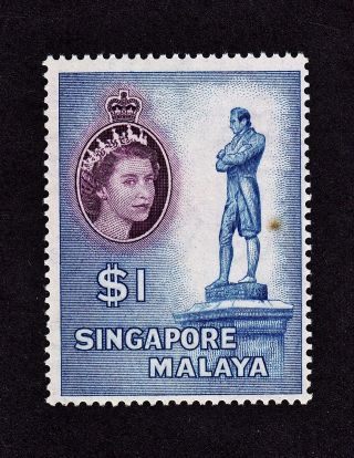 Singapore Scott 40 Mh - Sir Stamford Raffles Statue photo