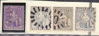 57,  51a,  51 Barbados - Cv $14.  00 photo