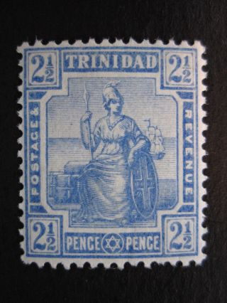 Trinidad - Scott 107 - Wm3 - Mh - Cat Val $19.  00 photo