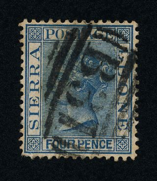 Sierra Leone 29 - Queen Victoria photo